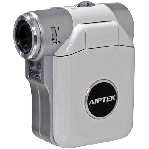 Aiptek ISDV2.4 Flash Memory Camcorder (White)