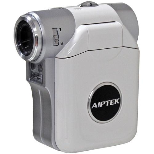 Aiptek ISDV2.4 Flash Memory Camcorder (White)