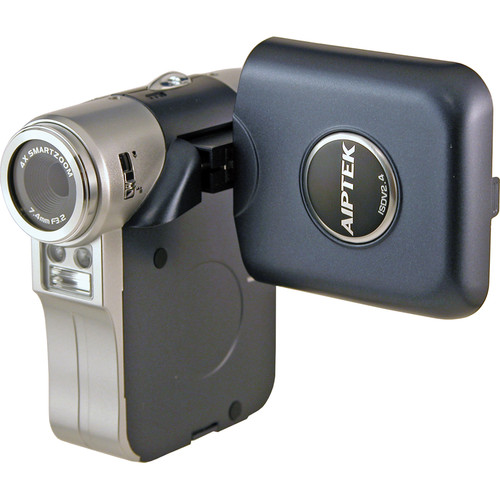 Aiptek ISDV2.4 Flash Memory Camcorder (Blue)