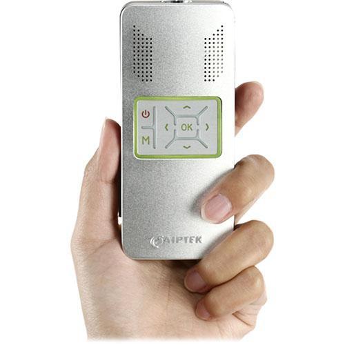 """Aiptek PocketCinema V10 42"""" Handheld Projector"""