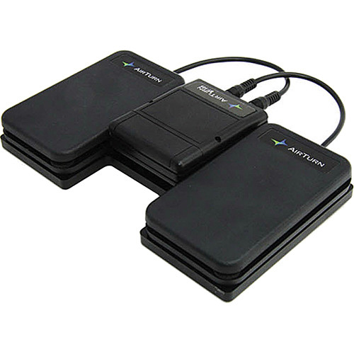 AirTurn BT-105 with 2 Silent Foot Pedals - Wireless Page Turner