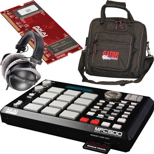 Akai Professional MPC500 - Beat Maker Value Bundle