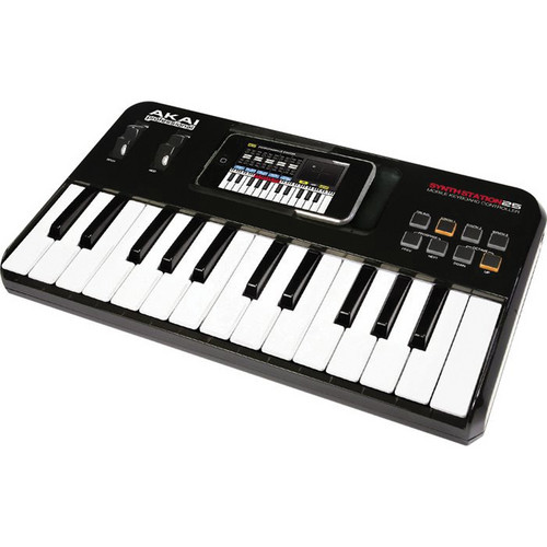 Akai Professional SynthStation25 - Piano Keyboard for iPhone and iPod Touch