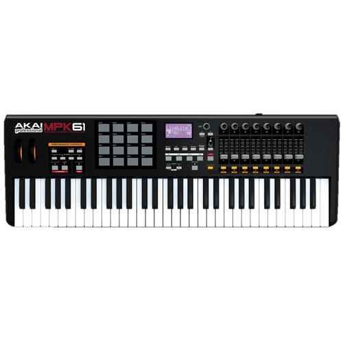 Akai Professional MPK61 - USB/MIDI Performance Keyboard