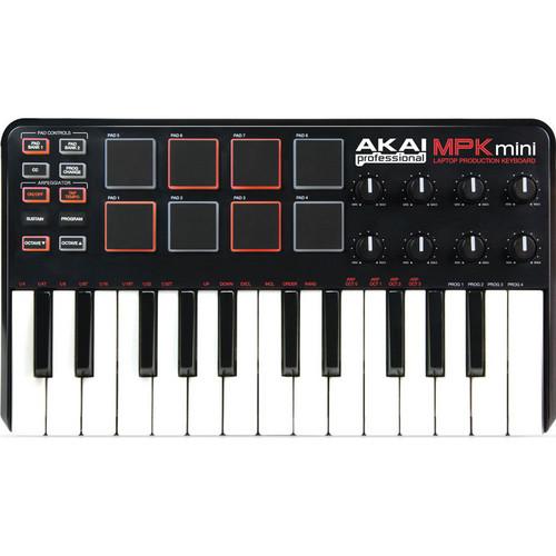 Akai Professional MPK mini - Keyboard Software Controller