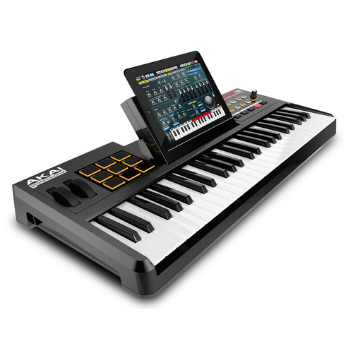 Akai Professional SynthStation49 - Keyboard Controller with Drum Pads and iPad Dock