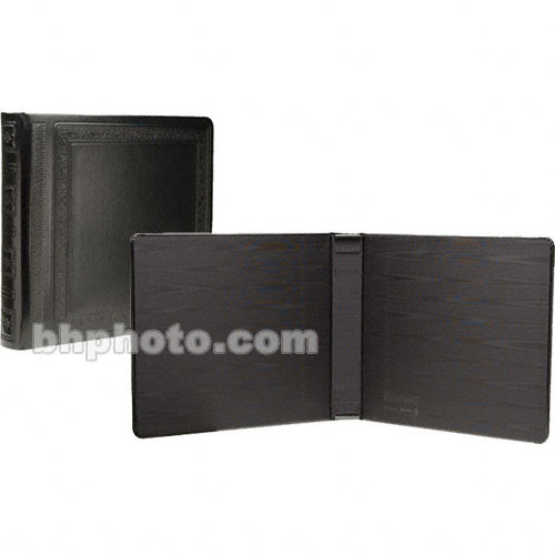 """Albums X Milano Photo/Wedding Album Cover  for 12 Pages 4x5"""" (Black)"""