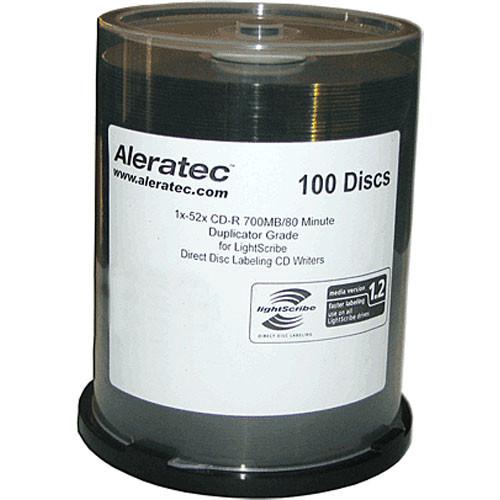Aleratec LightScribe CD-R 700MB (100)