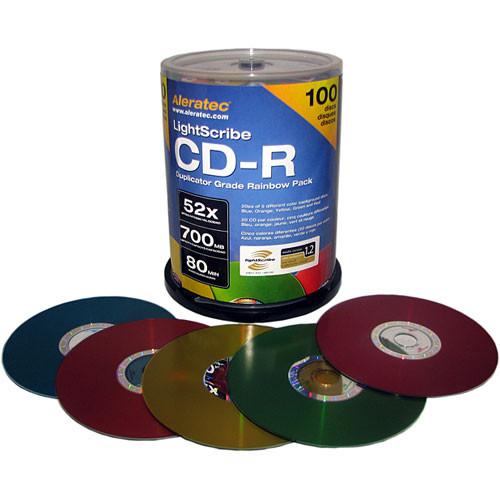 Aleratec LightScribe Colored CD-R 700MB (100)