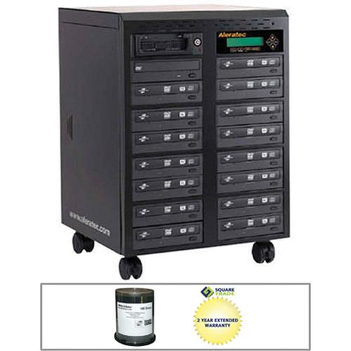 Aleratec 1:15 DVD/CD Tower Publisher SLS Duplicator B&H Kit