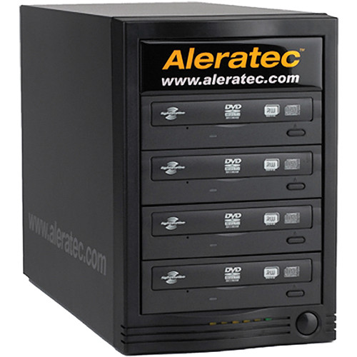 Aleratec 1:4 DVD/CD Tower Publisher HLS Win/Mac