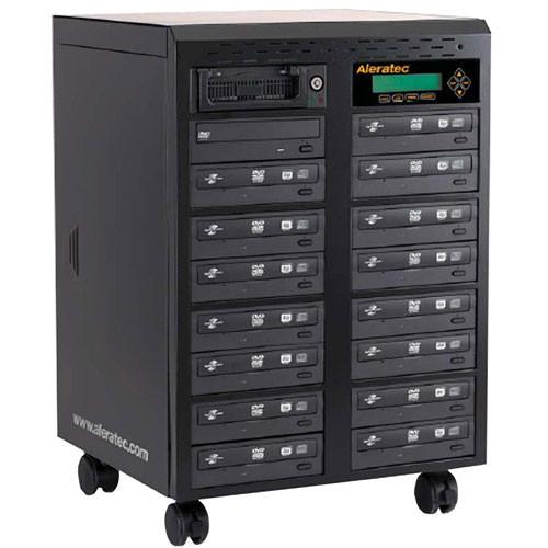 Aleratec 1:15 DVD/CD Tower Publisher SLS Duplicator - Standalone/USB 2.0
