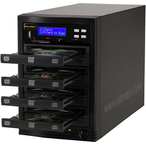 Aleratec 1:3 DVD/CD Flash Copy Tower Duplicator
