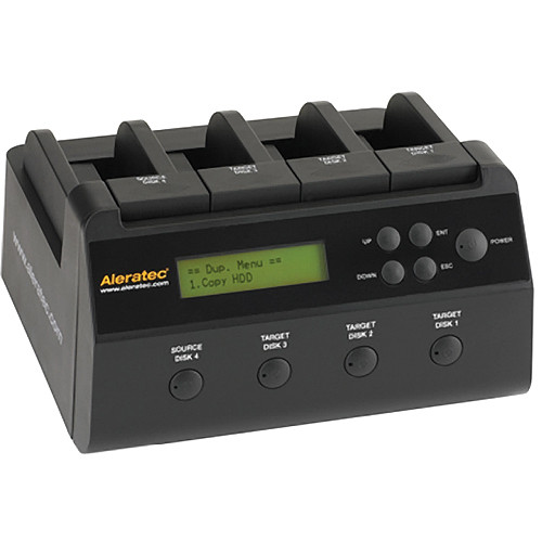 Aleratec 1:3 HDD Copy Dock 4-Bay Duplicator