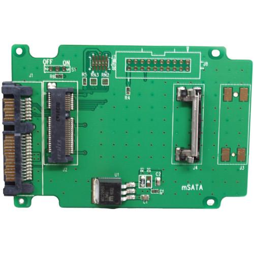 Aleratec 50mm mSATA SSD to SATA Adapter (2-Pack)