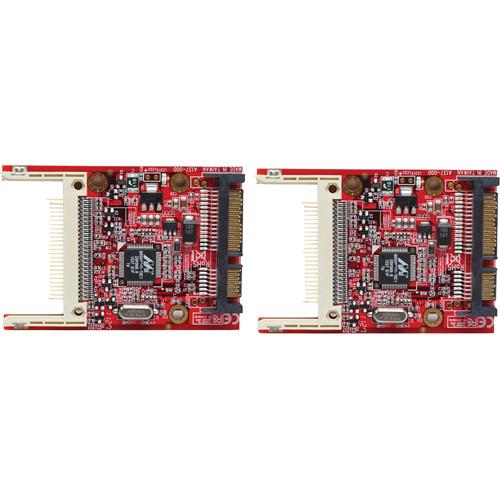 Aleratec Compact Flash (CF) to SATA Adapter (2 Pack)