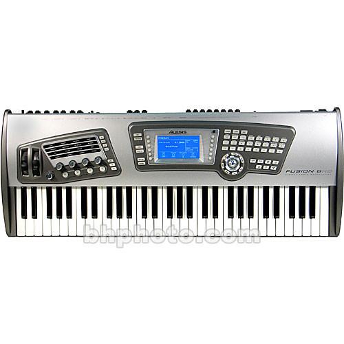 alesis fusion 8hd 61 note keyboard workstation fusion6hd b h. Black Bedroom Furniture Sets. Home Design Ideas