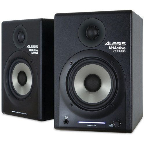 "Alesis M1Active 520 USB 2-Way 5"" Stereo Nearfield Monitor (Pair)"