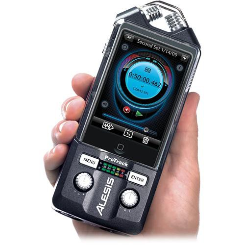 Alesis ProTrack Handheld Stereo Audio Recorder for iPod