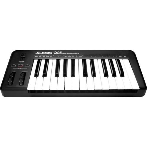 Alesis Q25 - USB/MIDI Keyboard Controller
