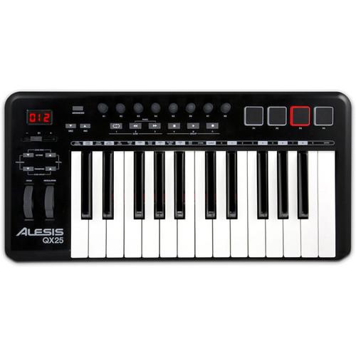 Alesis QX25 25-Key Advanced MIDI Keyboard Controller