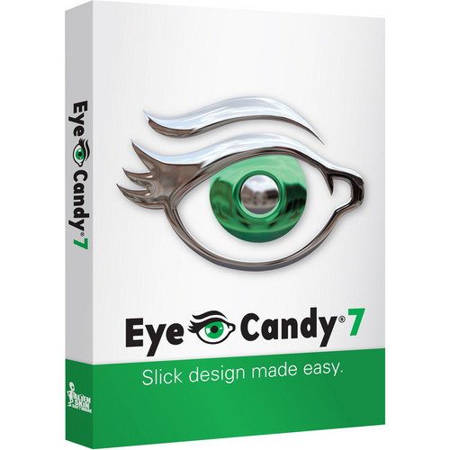 Alien Skin Software Eye Candy 7 Photo Editing Software for Mac and PC (CD-ROM, Educational)