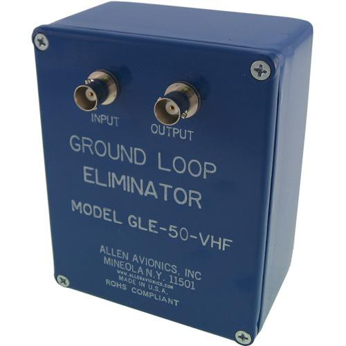 Allen Avionics GLE-50-VHF Ground Loop Hum Eliminator without Handles