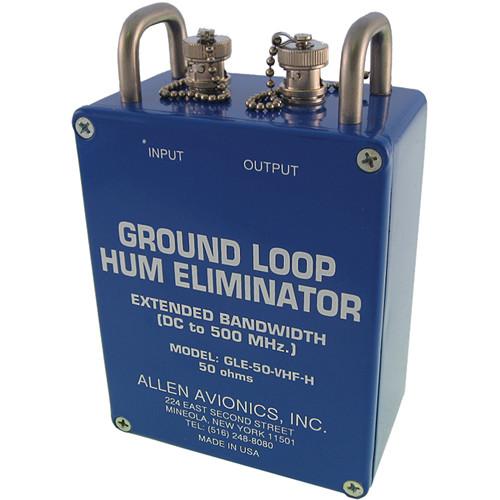 Allen Avionics GLE-50-VHF-H Ground Loop Hum Eliminator with Handles