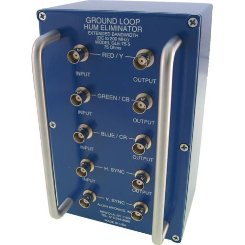 Allen Avionics GLE-75-5 Ground Loop Hum Eliminator with Handles