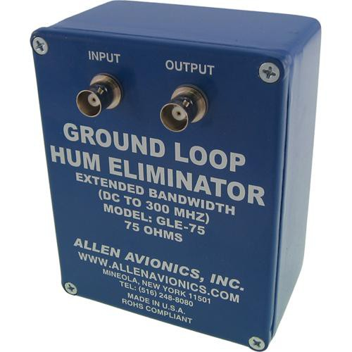 Allen Avionics GLE-75  Ground Loop Hum Eliminator without Handles
