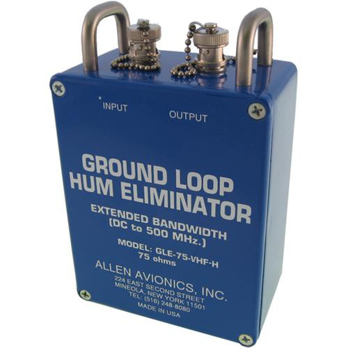 Allen Avionics GLE-75-VHF-H Ground Loop Hum Eliminator with Handles