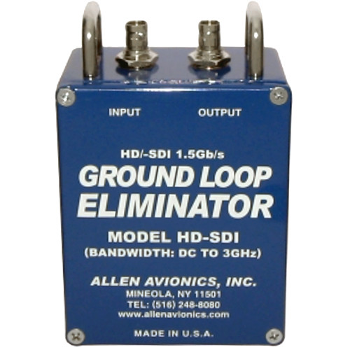 Allen Avionics HD-SDI Video Hum Eliminator
