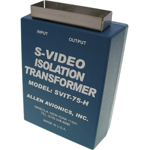 Allen Avionics S-VIT-75-H S-Video Hum Eliminator