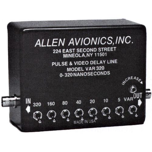 Allen Avionics VAR-320 Variable Video Delay, Toggles and Trimmer Adjust, Composite Video