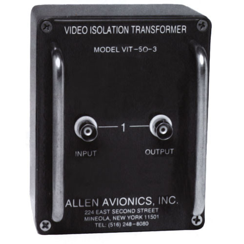 Allen Avionics VIT-50 Isolation Transformer