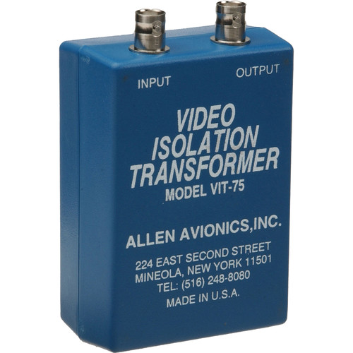 Allen Avionics VIT-75 Isolation Transformer