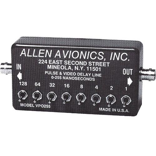 Allen Avionics VP-0255 Video and Pulse Delay - Toggle Adjust, Composite