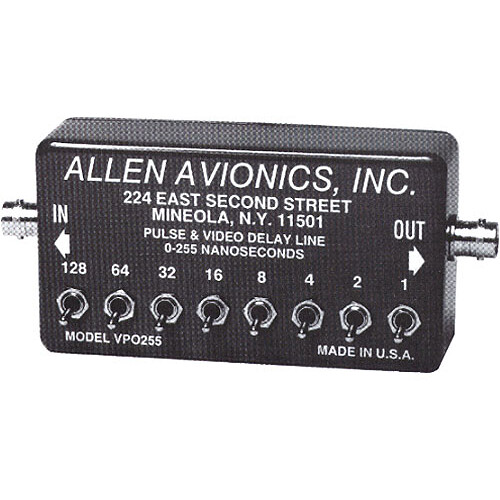 Allen Avionics VP-0255 Video and Pulse Delay
