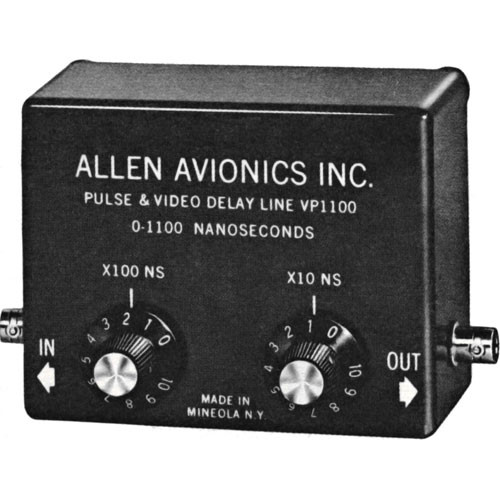 Allen Avionics VRM-110 Video Delay