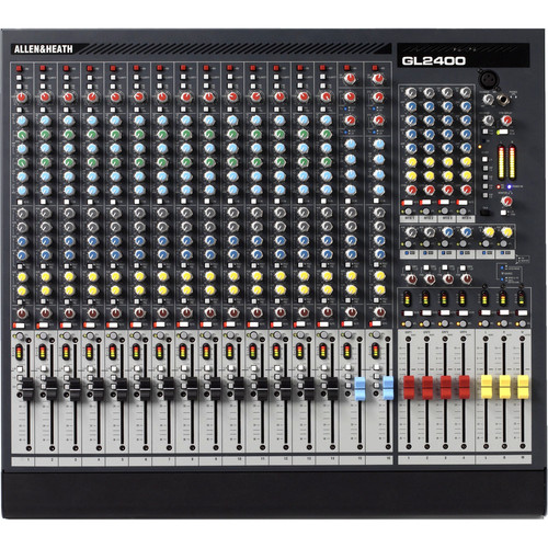 Allen & Heath GL2400-16 16-Input, 4-Buss Live Sound Console