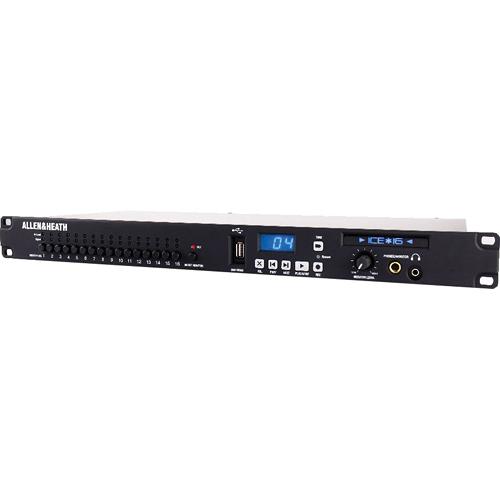 Allen & Heath ICE-16 USB Recorder and 16-Input /16-Output Audio Interface