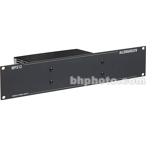 Allen & Heath MPS-12 Redundant Power Supply for W and GL Series Audio Mixers