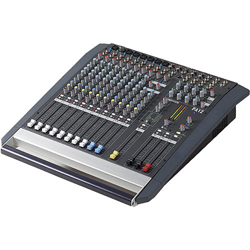 Allen & Heath PA-12 Portable 12-Channel Sound Mixer