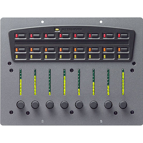 Allen & Heath PL-10 Compact Mixer with 8 Rotary Encoders