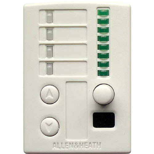 Allen & Heath PL-12 - Wall Remote for GR2