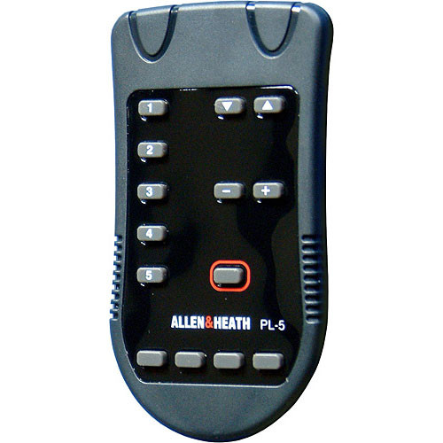 Allen & Heath PL-5 Remote Controller for PL-4 Wall Plate