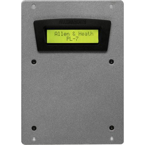 Allen & Heath PL-7 2x16 LCD Panel for iDR4/8