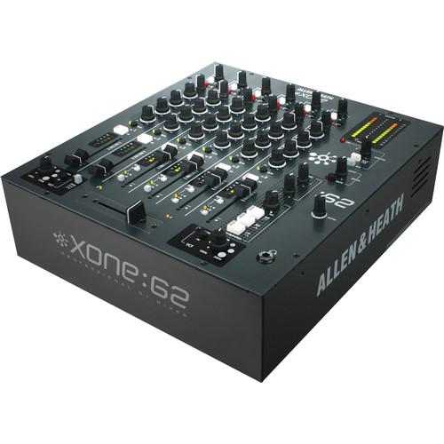 Allen & Heath XONE2:62 Six-Channel Club DJ Mixer
