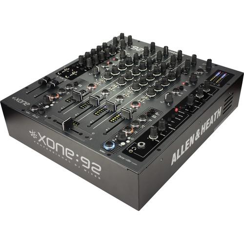 Allen & Heath XONE:92S Professional Six-Channel Club Install DJ Mixer