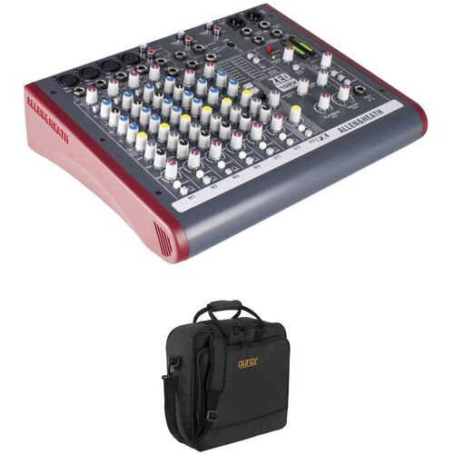 Allen & Heath ZED-10FX Multipurpose Mini Mixer with Effects and Bag Kit